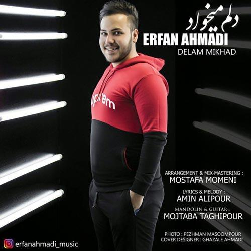 دانلود آهنگ جدید عرفان احمدی به نام دلم میخواد
