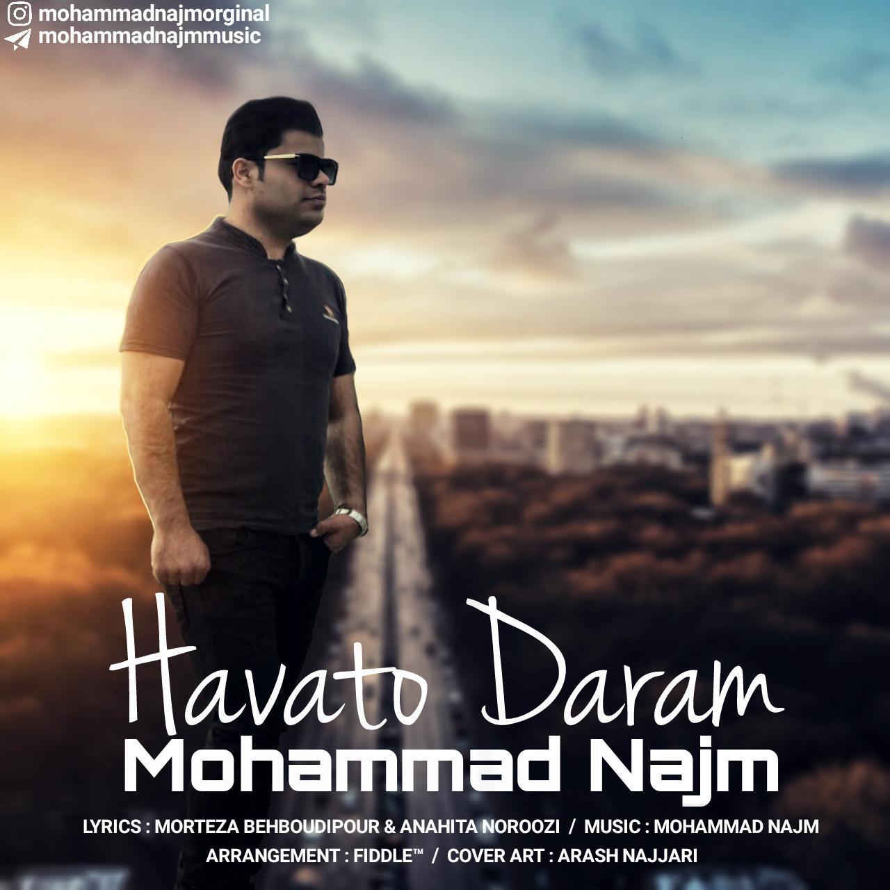 دانلود آهنگ جدید محمد نجم به نام هواتو دارم